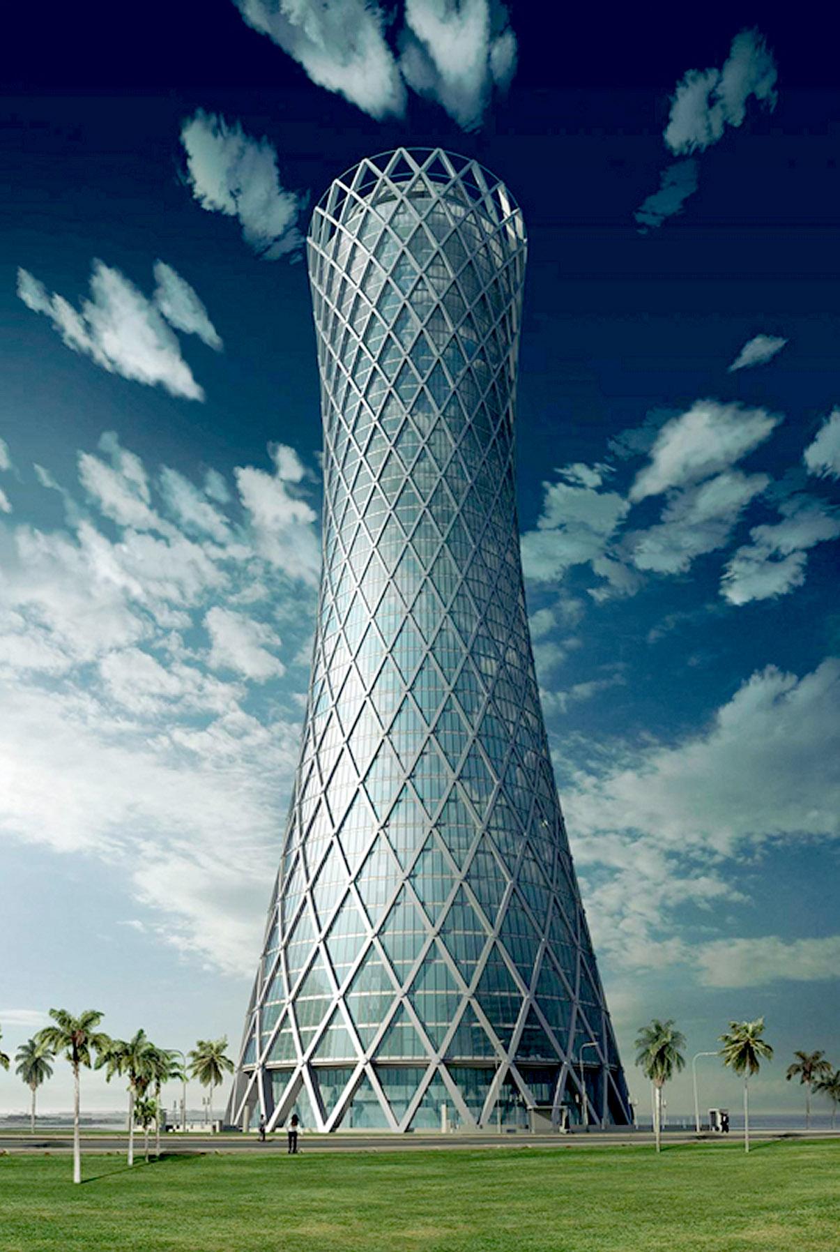 Tornado Tower Qatar Interpane Glas Industrie Ag